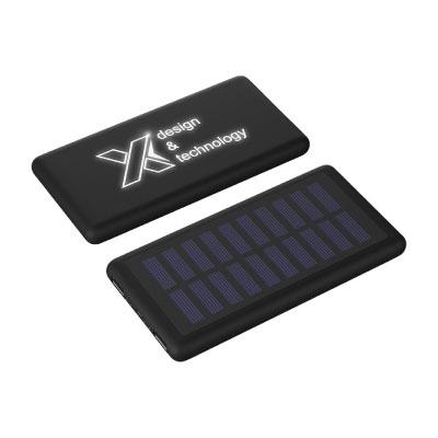 Objet Publicitaire Logo Lumineux Batterie Externe Energie Solaire