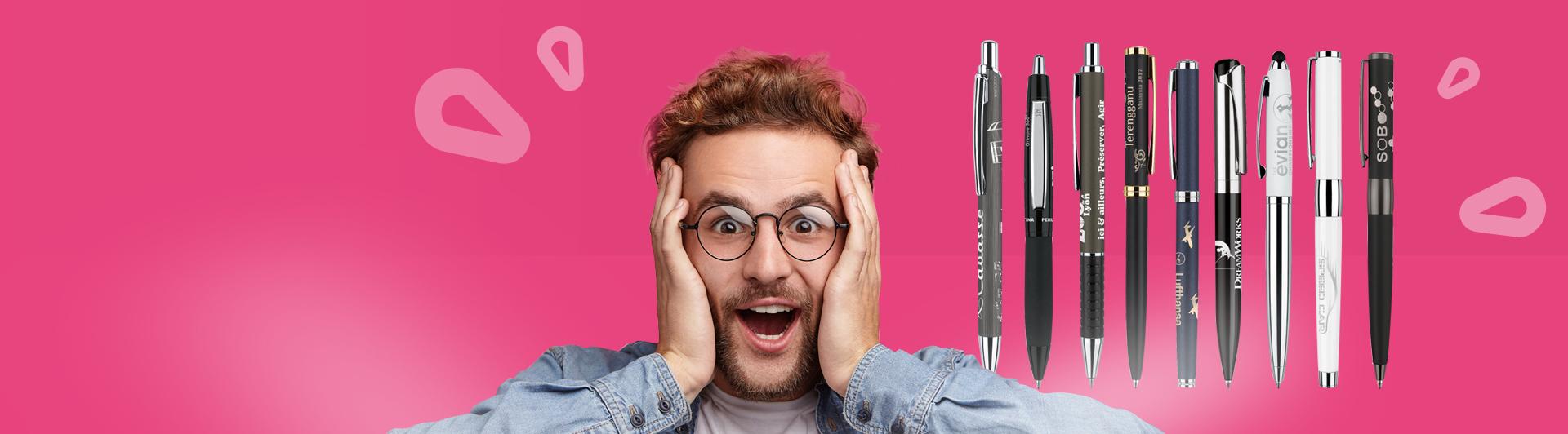Offre stylos personnalisés métal - objets publicitaires Nantes Créagift