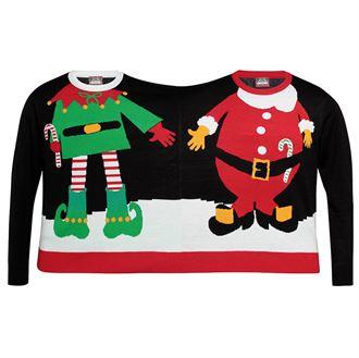pull double Journée Du Pull Moche De Noel