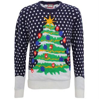 pull neige et sapin Journée Du Pull Moche De Noel