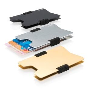 Porte Carte Aluminium Anti Rfid Personnalisable Créagift