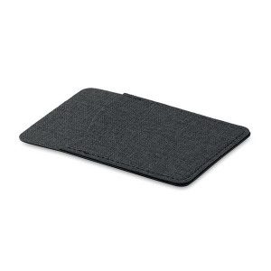 Porte Carte Polyester Anti Rfid Personnalisable Créagift