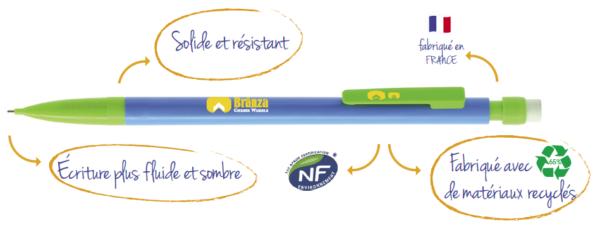Crayon De Bois Bic Objets Publicitaires Nantes Créagift