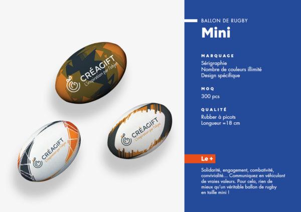 Mini Ballon De Rugby Personnalisé Creagift Nantes