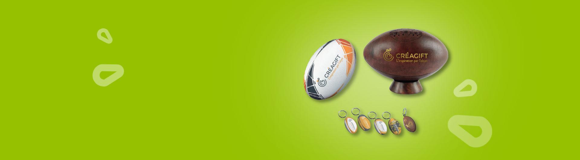 Ballons De Rugby Personnalisés Créagift Nantes
