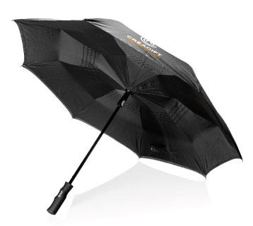 goodies entreprise innovant Parapluie Réversible