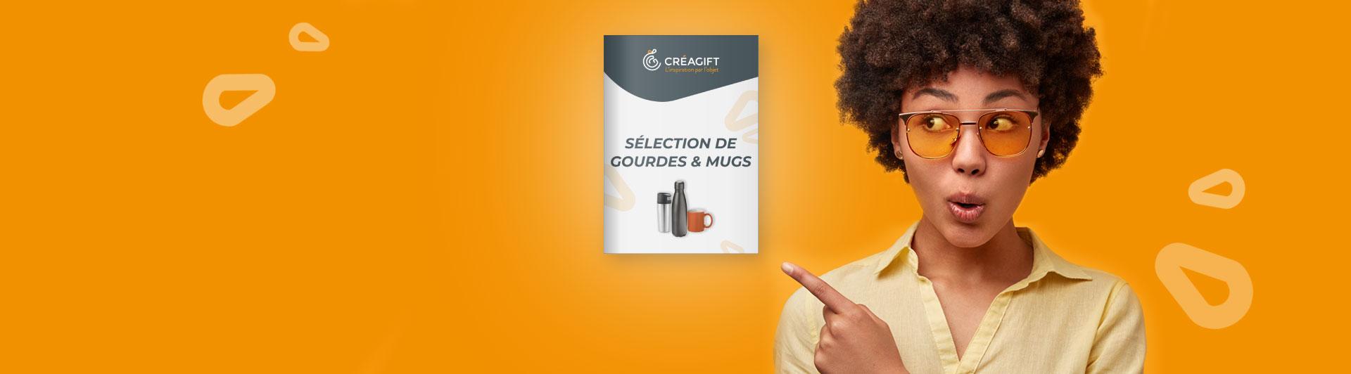 Gourdes Et Mugs Personnalisés Goodies Entreprise Créagift