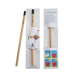 Crayons Publicitaire Écologique Avec Graines