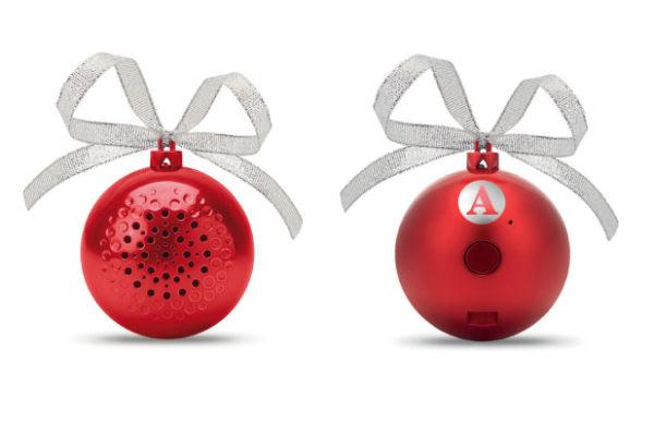 Boule De Noel Personnalisée En Haut Parleur