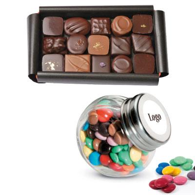 Chocolat Personnalisé Pour Cadeau Entreprise Fin D'annee