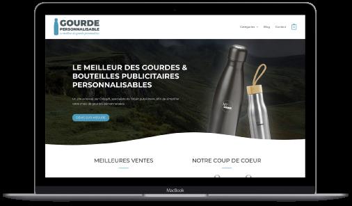 Site Web Gourdes Personnalisables