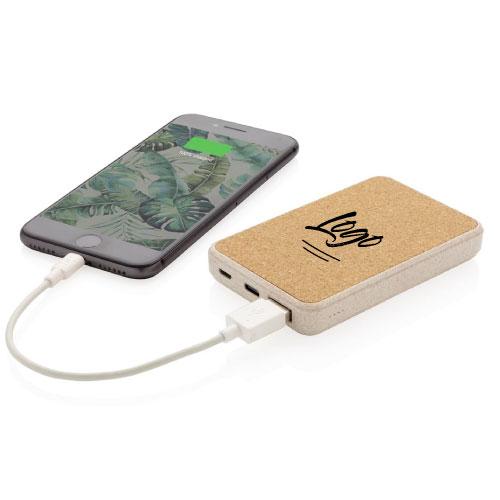 Batterie Externe écologique personnalisable