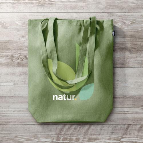 Sac Tote Bag Écologique En Chanvre