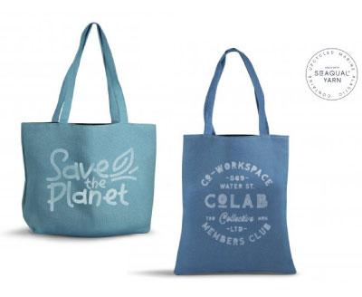 Sac Publicitaire écologique En Dechets Recyclés
